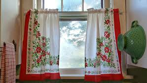 Plaid Kitchen Curtains Valances by Kitchen Christmas Kitchen Curtains Sweet Classy Strawberry