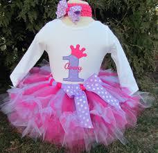 1st birthday tutu personalized pink and purple princess crown 1st birthday tutu