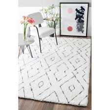 Tufted Area Rug Peraza Tufted White Area Rug Bedrooms Room And Apartments