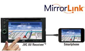 mirror link android jvc mobile entertainment mirrorlink