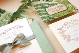 Vintage Wedding Invitation Cards Diy Tutorial Vintage Fern Wedding Invitations