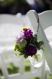 Calla Lily Home Decor by Aisle Decor Mason Jar Calla Lilies Purple Wedding Flowers