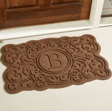 home decoration captivating diy monogram doormat ideas