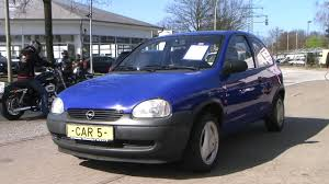 opel suv 2000 opel corsa 1 2 city modell 2000 blau www autohaus biz car5 youtube