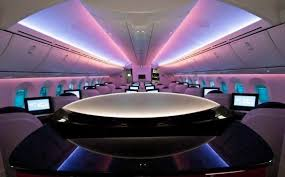 Boeing 787 Dreamliner Interior My Flight Qatar Airways Business Class On The 787 Dreamliner