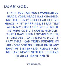 a prayer of thanksgiving to god prayer of the day building trust with my husband