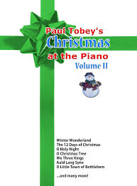 christmas sheet music piano paul tobey