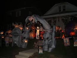 front yard halloween decorations halloween decorations made at