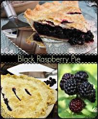 black raspberry pie recipe is it a blackberry or black raspberry