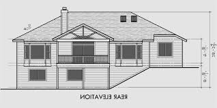 house plans with basement garage house front drawing elevation view for 10001 one story house plans