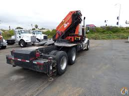 used kenworth trucks for sale in canada pk 56002 d knuckle boom mounted to 2005 kenworth t800 tractor