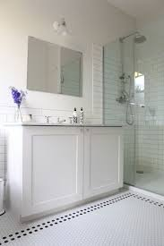 best 25 edwardian bathroom ideas on pinterest ensuite room hexagon and subway tile love minus the black ones and going with a dark vanity