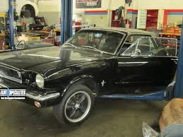 1965 Mustang Black 1965 Black Beauty Mustang Fast Specialties Performance Auto