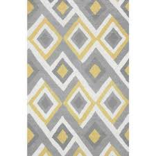 Yellow Area Rugs Brilliant 8 X 10 Yellow Area Rugs Rugs The Home Depot Regarding
