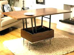 coffee table extendable top extendable coffee table coffee table pop up coffee table modern
