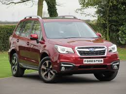 subaru forester red 2016 used subaru forester red for sale motors co uk