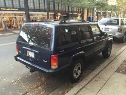 cherokee jeep 2001 file jeep cherokee xj 1997 u20132001 sport 4 door in blue jpg