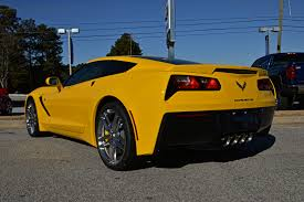 yellow corvette c7 corvette c7 by hcitron on deviantart