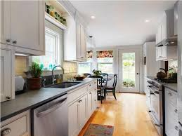 kitchen design chic small galley kitchen ideas design designs