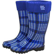 fanatics black friday kentucky wildcats women u0027s rain boots royal blue fanatics com