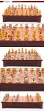 theme chinese chess set with antique custom chess pieces and