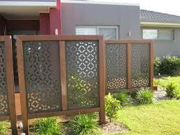 outdoor privacy screen idea for backyard deck attractive privacy