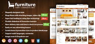 joomla furniture virtuemart template 10 advantages in 1 choice