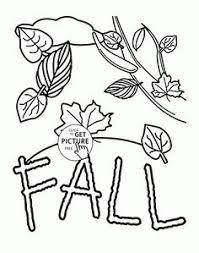 pin magic color book autumn falls coloring pages