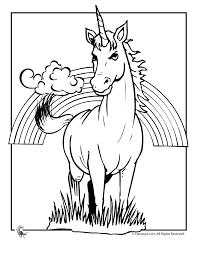 fantasy jr unicorn u0026 rainbow coloring unicorns