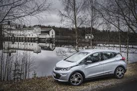 opel ampera 230 opel ampera e were registered in norway last month push evs