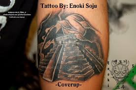 pyramid tattoo cover up covering name by enokisoju on deviantart
