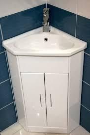 Compact Vanities White Compact Corner Vanity Unit Bathroom Furniture Sink Cabinet