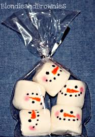 s u0027more snowman pretzels u2013 blondie and brownies