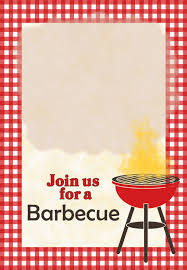 a barbecue free printable party invitation template greetings