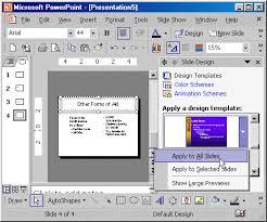 powerpoint apply design template gavea info