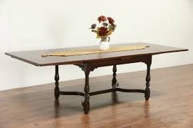 table with slide out leaves antique dining room table with pull out leaves dining room