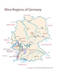 map of regions of germany germany swe map 2017 wine wit and wisdom
