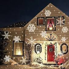 Outdoor Christmas Snowflake Decorations by Christmas Snowflake Light Halloween Decorations Outdoor