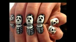 halloween theme horror nail art collection youtube
