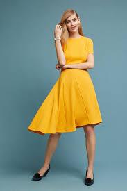 yellow dresses for women anthropologie