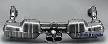 porsche boxster 987 exhaust suncoast porsche parts accessories sport exhaust system