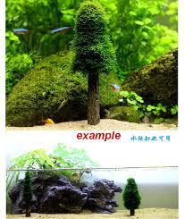 aquarium cultivation moss christmas tree plant tank decoration