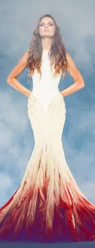ombré wedding dress beyond white 15 ombre wedding gowns gowns couture and hot