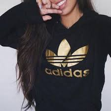 adidas sweater adidas print velvet hoodie from best