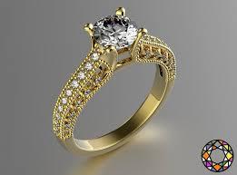 3d printed engagement ring engagement ring 3d print model cgtrader