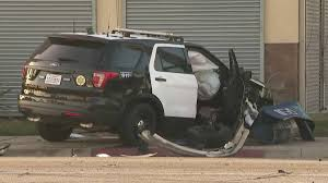 deputy crashes into other vehicle and is injured during pursuit in