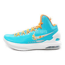 kd easter 5 nike kd 5 easter mens size 9 5 turquoise blue bright citrus ebay