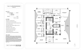 quantum on the bay floor plans 1000 museum real estate transactions international