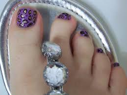 life with jenni leopard spot toe nail art