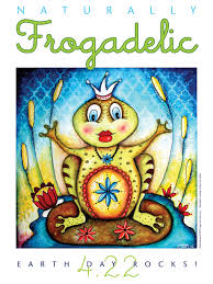 frogadelic frogs are green kids